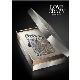 Love Crazy ® Apple iPhone 6 Plus / 6S Plus Premium Design Angel Star Wings Metallic 3D Plating Back Cover