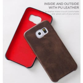 Usams ® Samsung Galaxy S6 Ultra-thin Elegant Grained Leather Case Back Cover