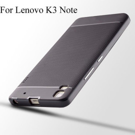 i-Paky ® Lenovo A7000 / K3 Note Mat Series Ultra-thin Hybrid Silicon Grip Shockproof Protective Shell Back Cover