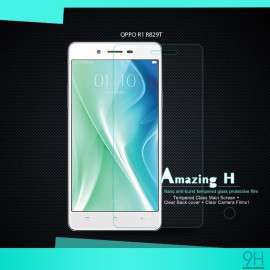 Dr. Vaku ® Oppo R1 R829T Ultra-thin 0.2mm 2.5D Curved Edge Tempered Glass Screen Protector Transparent