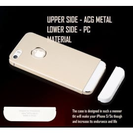 Totu ® Apple iPhone 5 / 5S Armour Slim Aluminium Bumper Case / Cover