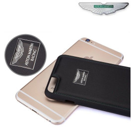 Aston Martin Racing ® Apple iPhone 6 Plus / 6S Plus Official Hand-Stitched Leather Case Limited Edition Back Cover