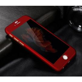 Vorson ® Apple iPhone 6 / 6S 5D JARL Electroplating Front + Back Case + Tempered Glass Screen Protector