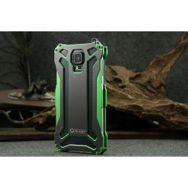 R-JUST ® Samsung Galaxy S5 GUNDAM Aluminium Alloy Dual-Color Oxidation Metal Case Back Cover
