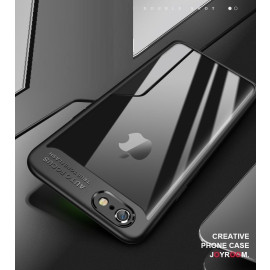 Vaku ® Apple iPhone 7 Plus Kowloon Series Top Quality Soft Silicone  4 Frames plus ultra-thin case transparent cover