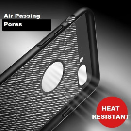 VAKU ® Apple iPhone 6 / 6S Lamarda Series Logo Display PC Heat Dissipation Hollow Back Cover