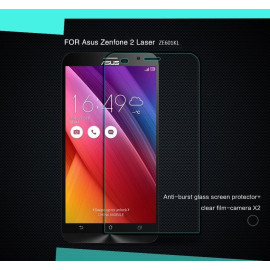 Dr. Vaku ® Asus Zenfone 2 Laser / ZE601KL Ultra-thin 0.2mm 2.5D Curved Edge Tempered Glass Screen Protector Transparent